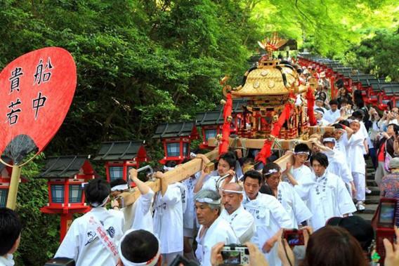 6月1日は「貴船祭」です。