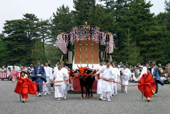 5月15日は京都の三大祭の一つ「葵祭」です。